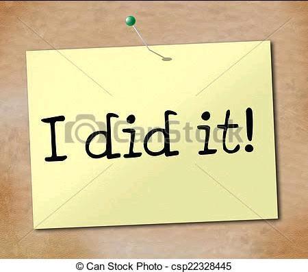 I DID IT! ( part 1)