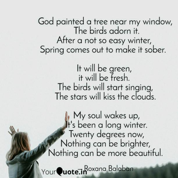 Near my window