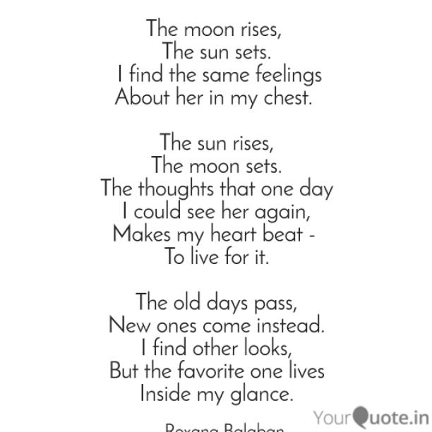 Inside my glance