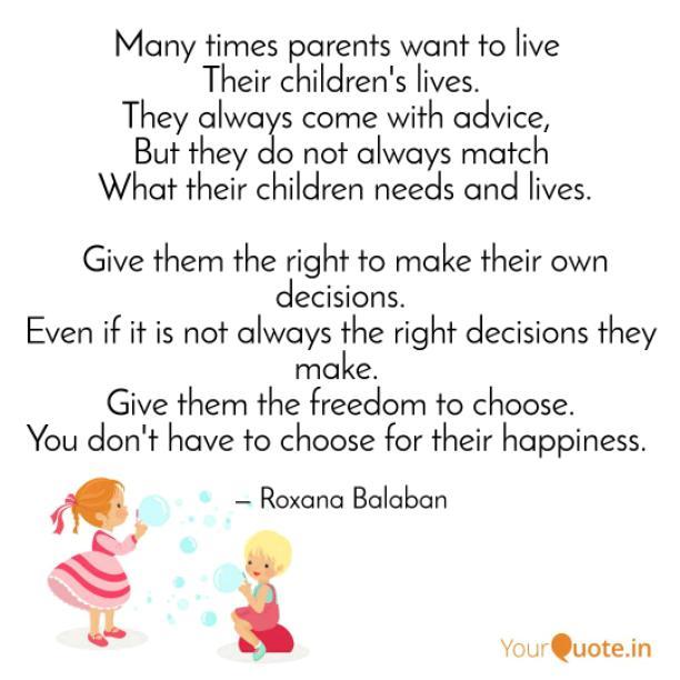 Many parents