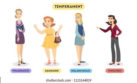 FOUR SHADES OF TEMPERAMENT