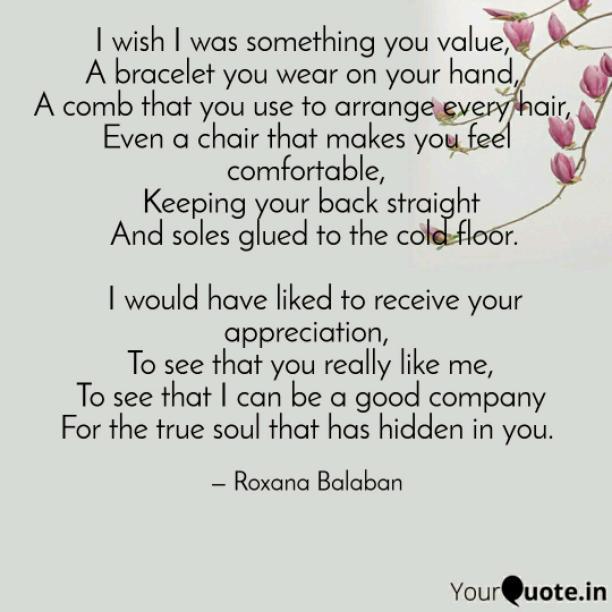 Something you value