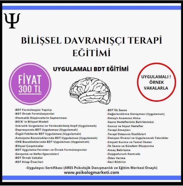 BDT Eğitimi - Bilişsel Davranışçı Terapi