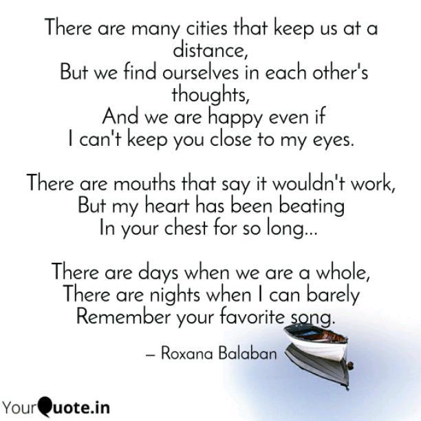 Many cities