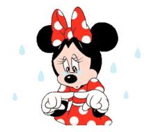Minnie Mouse Upset