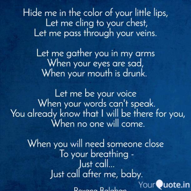 Through your life