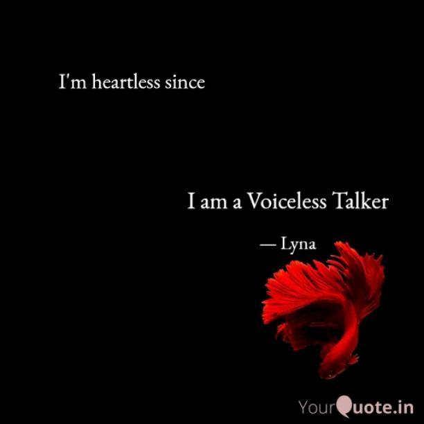 Voiceless Talkers: voiced dumb