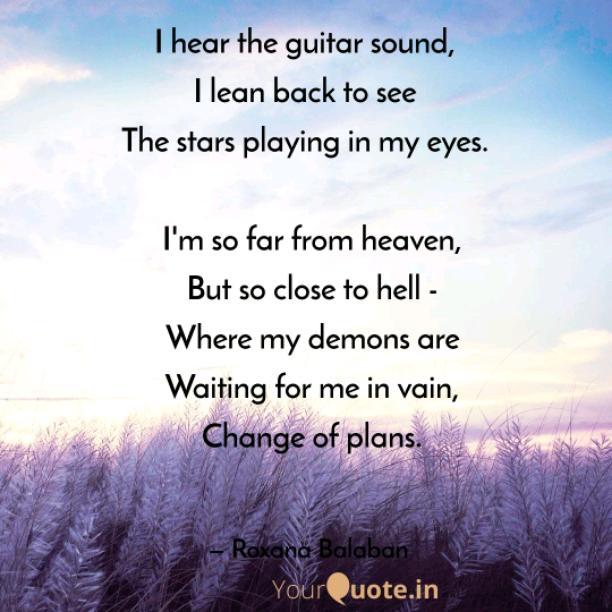 The guitar sound