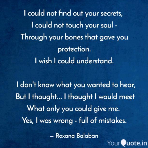 Your secrets
