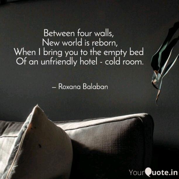Between four walls