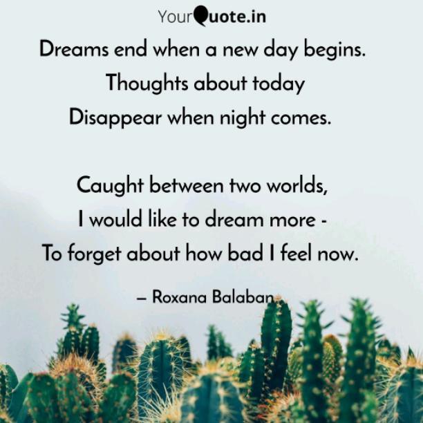 Dreams end