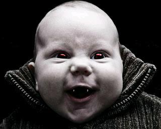 Vampire baby toddler