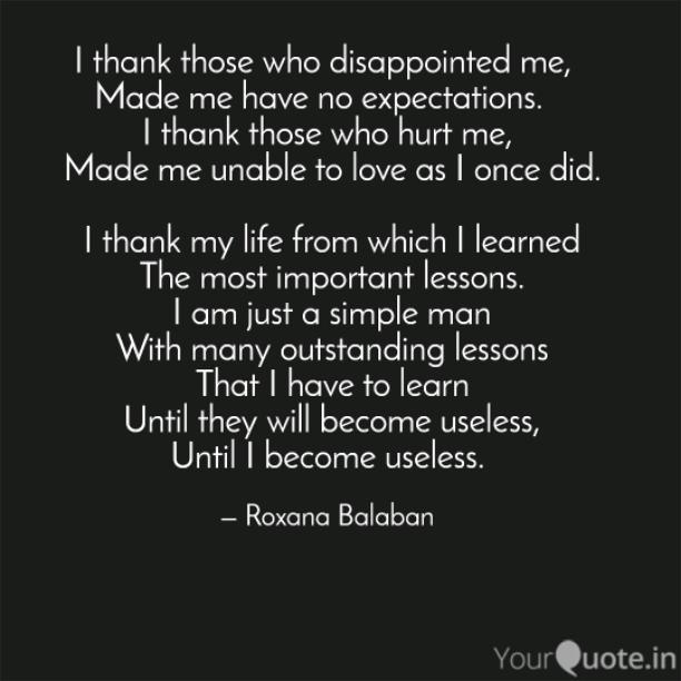 I become useless