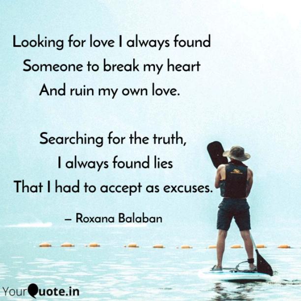 I always found