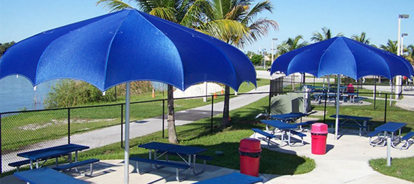 Outdoor Commercial Umbrella - Ideal for Providing Sun Protection