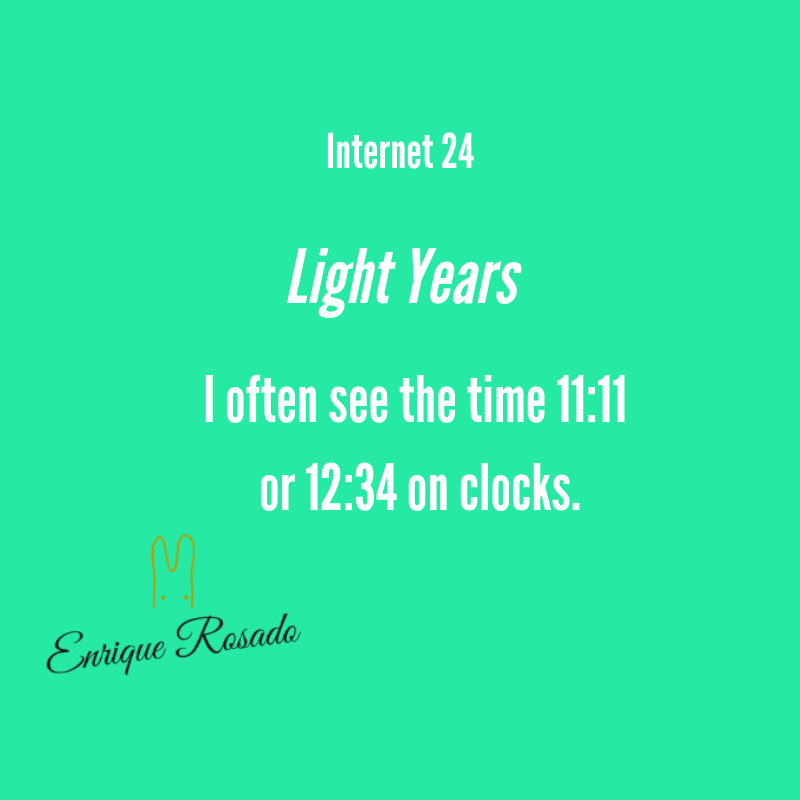 Light  Years - Internet 24
