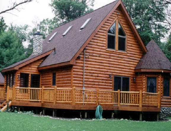 Log Siding Will Change Your Concept of a Log Home