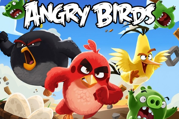 What are the main Features of angry birds game series?