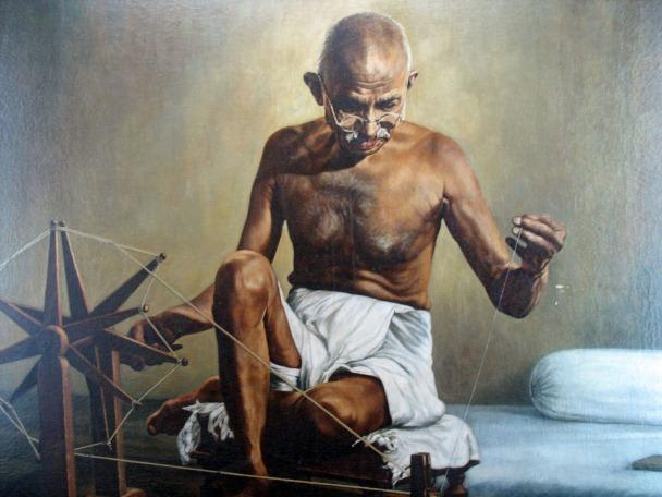 This is How Our Beloved Bapu – Mahatma Gandhi envisioned Indian Handlooms