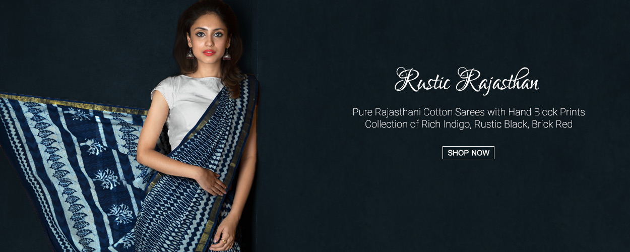 This Summer, Drape into the Jaipur Magic – Unnati's Jaipur Cotton Sarees Edition